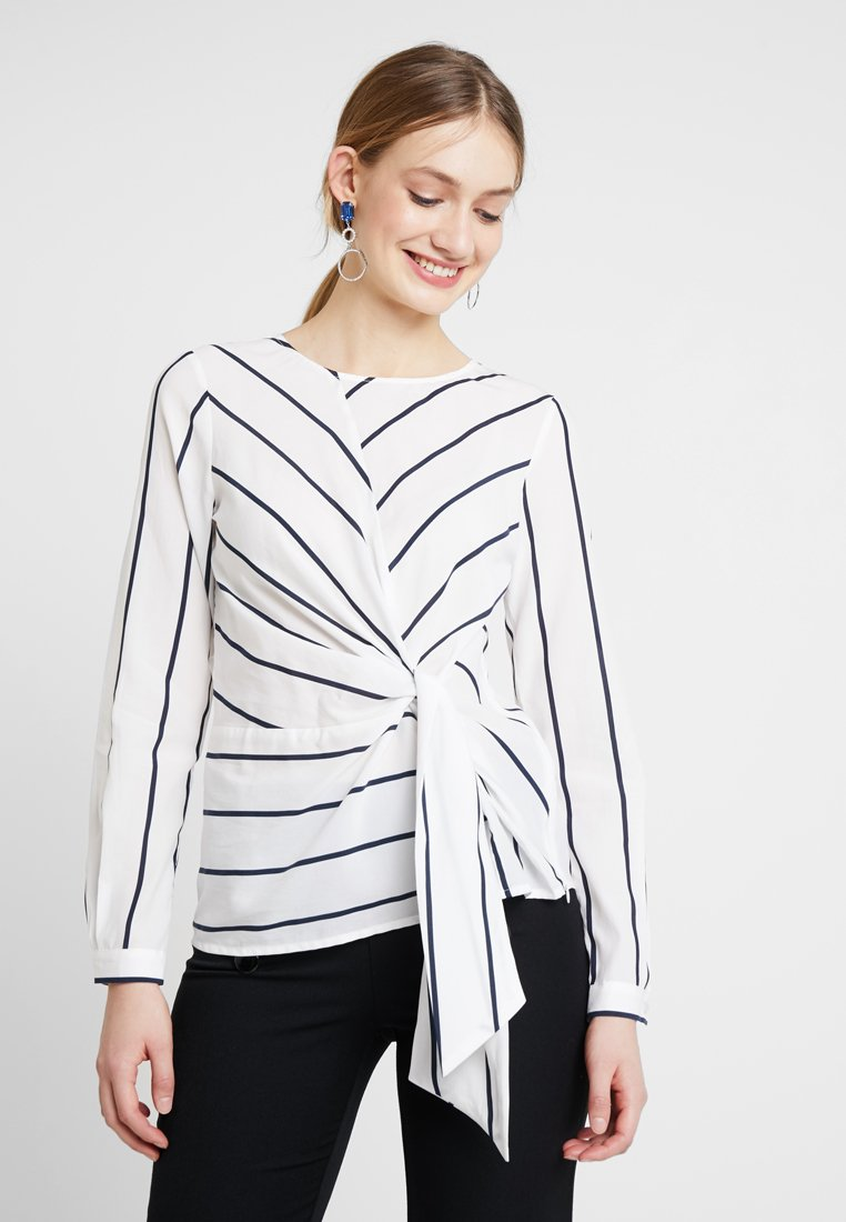 More & More - BLOUSE SLEEVE - Bluse - offwhite