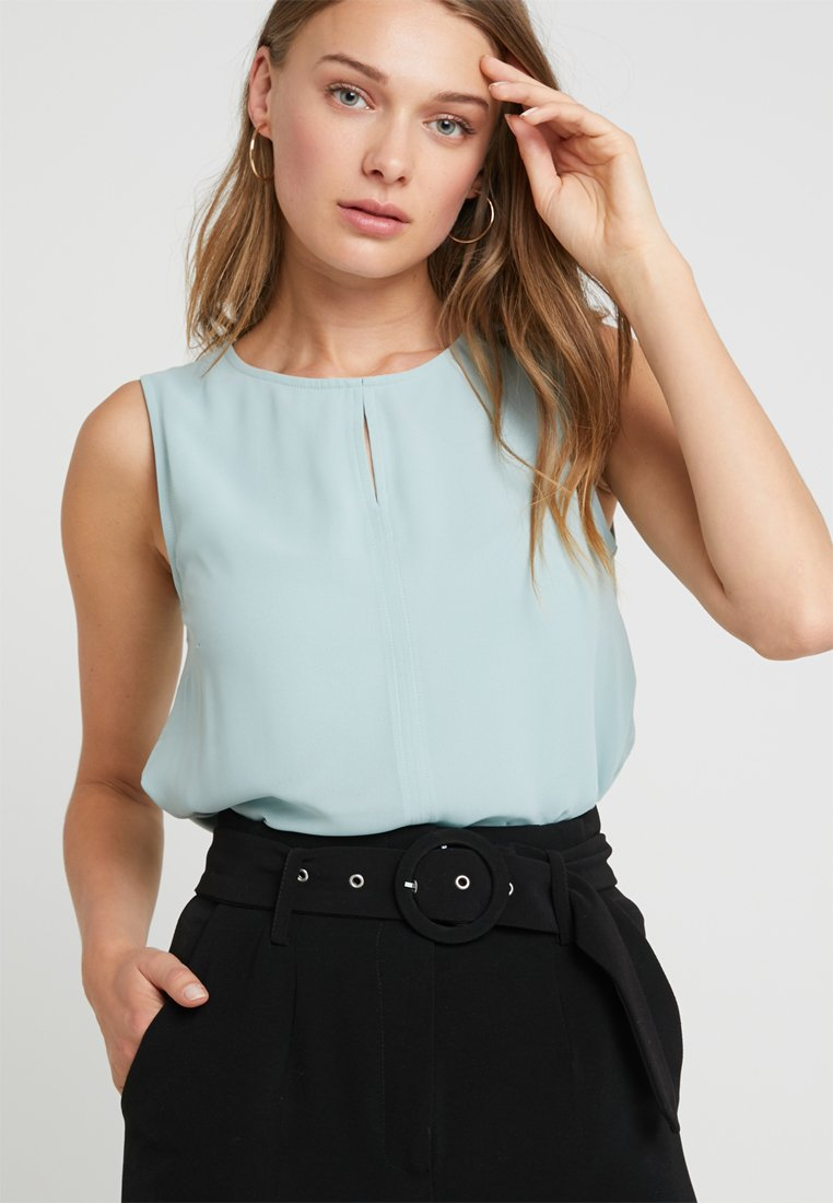 More & More - TOP - Bluse - powder mint