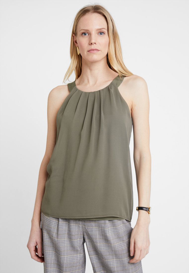 More & More - Blusa - african green
