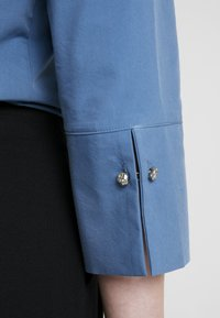More & More - BLOUSE 3/4 SLEEVE - Button-down blouse - blue petrol - 5