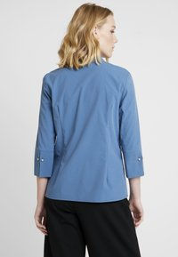 More & More - BLOUSE 3/4 SLEEVE - Button-down blouse - blue petrol - 2