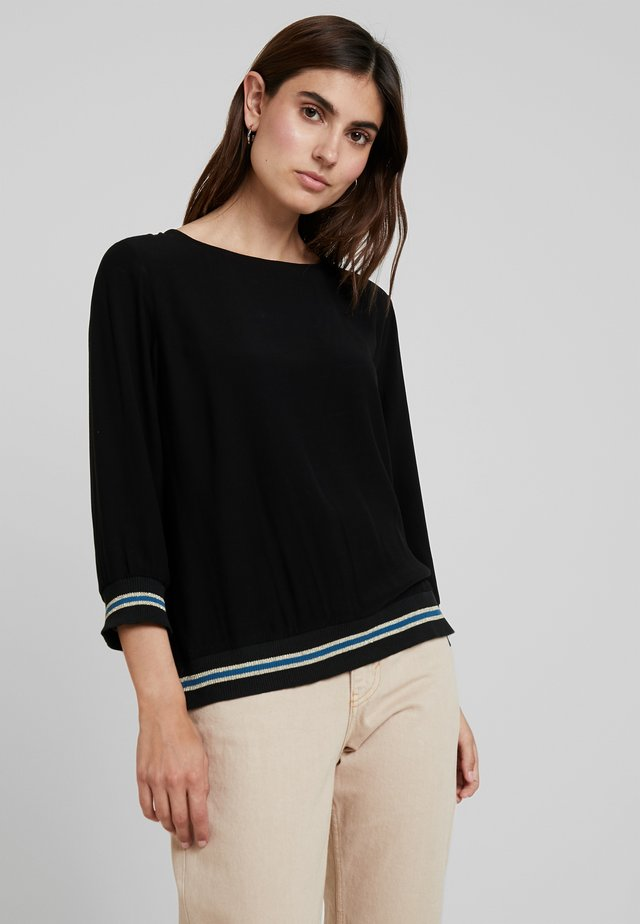 BLOUSE 3/4 SLEEVE - Blouse - black