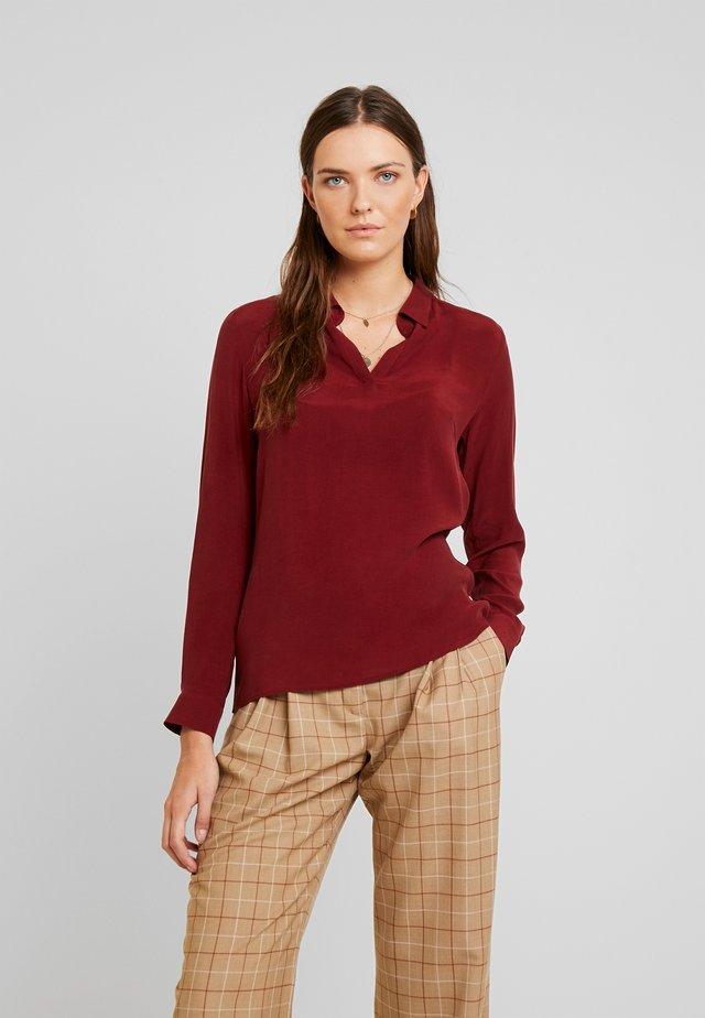 Poloshirt - wine red