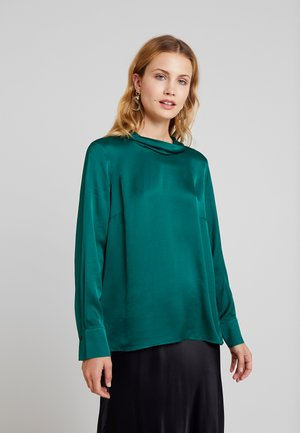 BLOUSE SLEEVE - Blouse - emerald green