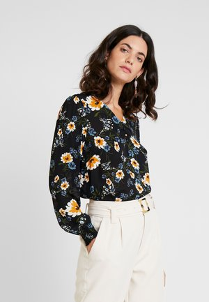 BLOUSE - Blouse - black/multi