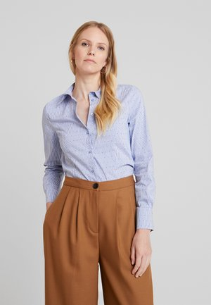 BLOUSE 1/1 SLEEVE - Button-down blouse - fresh blue