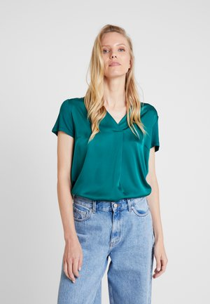 Blouse - emerald green