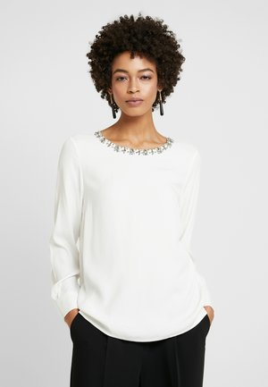 BLOUSE SLEEVE - Blouse - off white