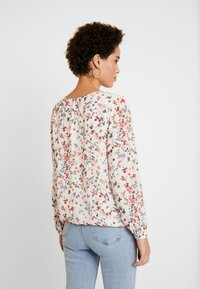 More & More - BLOUSE SLEEVE - Blouse - cool sand multicolor - 2