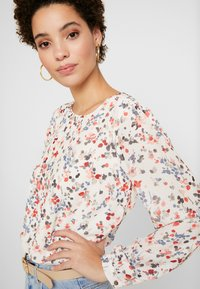 More & More - BLOUSE SLEEVE - Blouse - cool sand multicolor - 4