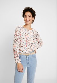 More & More - BLOUSE SLEEVE - Blouse - cool sand multicolor - 0