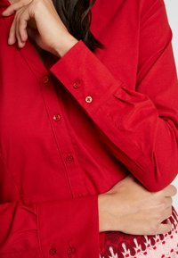More & More - Button-down blouse - granate red - 5