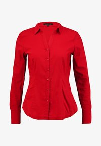 More & More - Button-down blouse - granate red - 4