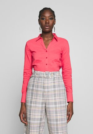 BLOUSE - Button-down blouse - soft raspberry