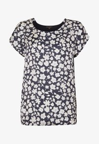 More & More - 1/2 SLEEVE - Blouse - marine/multicolor - 3