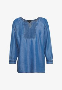 More & More - BLOUSE 3/4 SLEEVE - Blouse - denim blue - 0