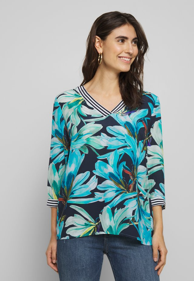 3/4 SLEEVE - Tunika - marine/multi