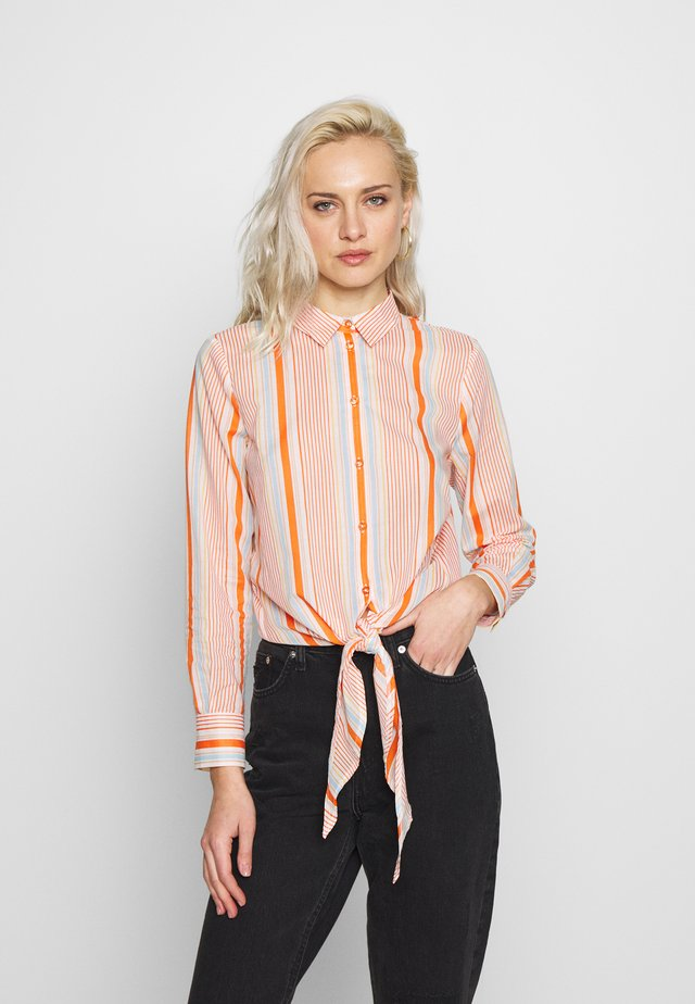 BLOUSE - Blouse - melon multicolor