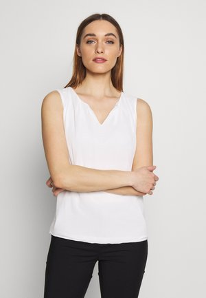 NON SLEEVE - Blouse - off white