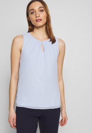 NON SLEEVE - Blouse - pleasure blue