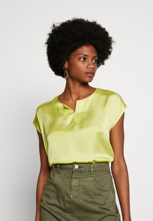 1/2 SLEEVE - Blusa - green lemon