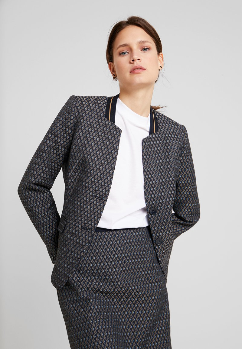 More & More - Blazer - marine/multicolor