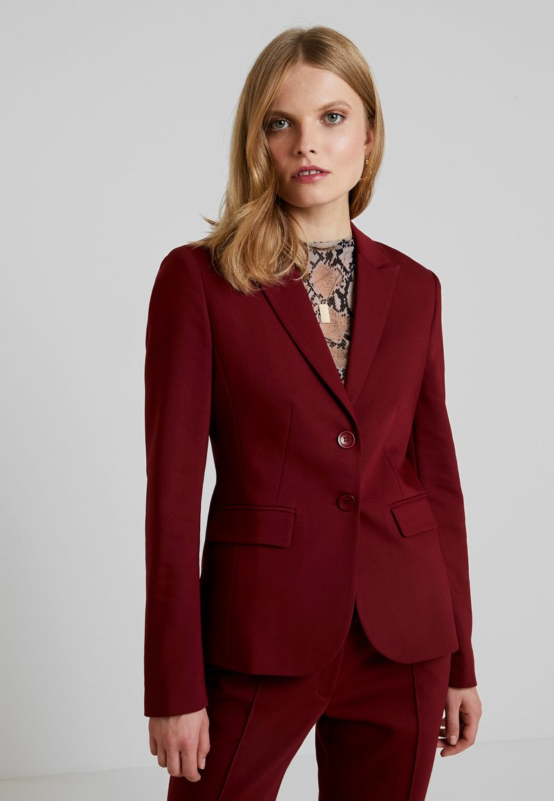 More & More - Blazer - wine red