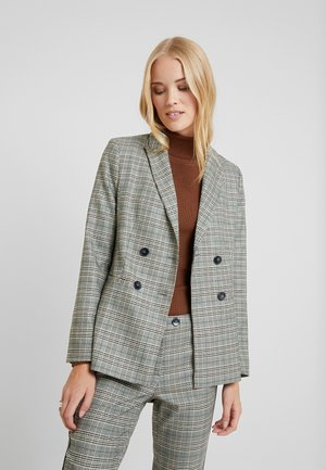 Blazer - emerald green multi