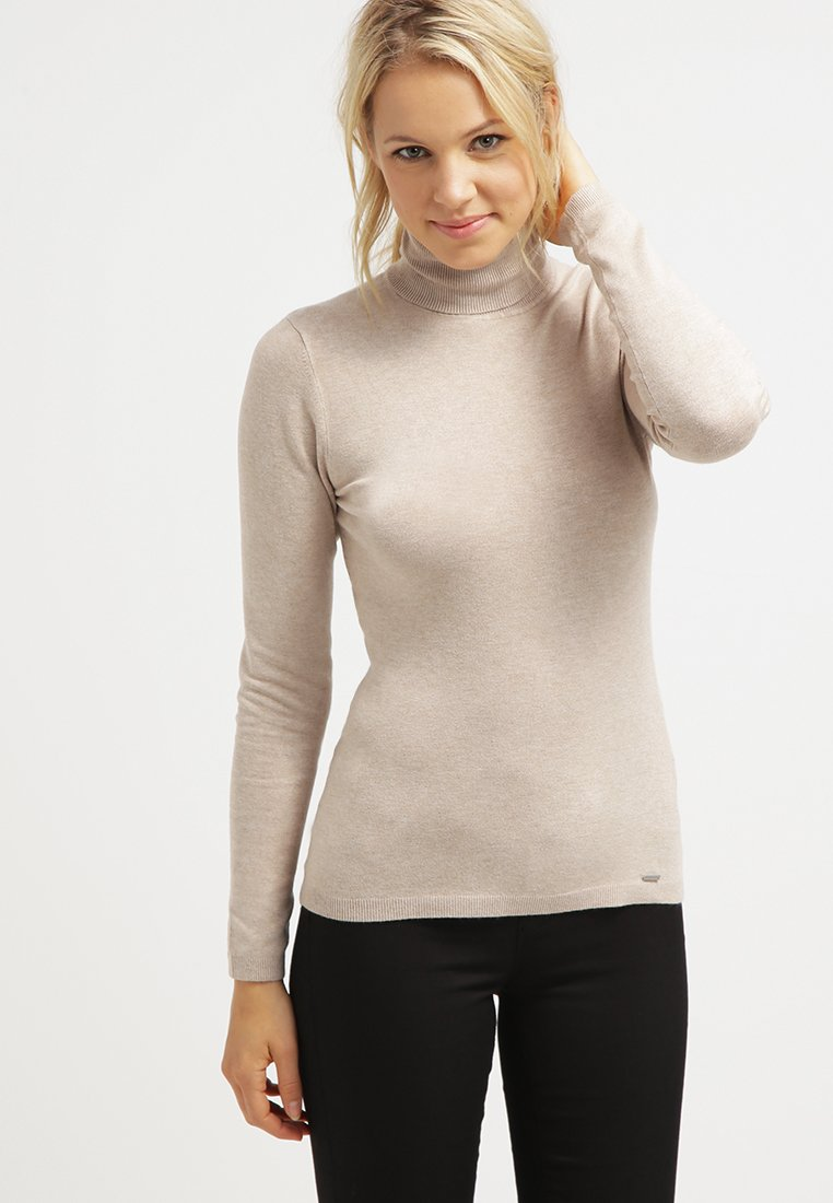 More & More - Sweter - light camelmelange