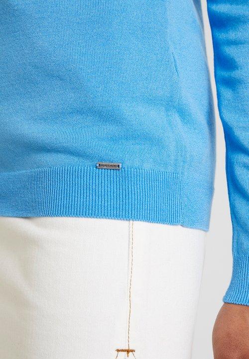 More & More 1/1 ARM - Sweter - winter blue Odzież Damska ZBHD-GV6 piękny