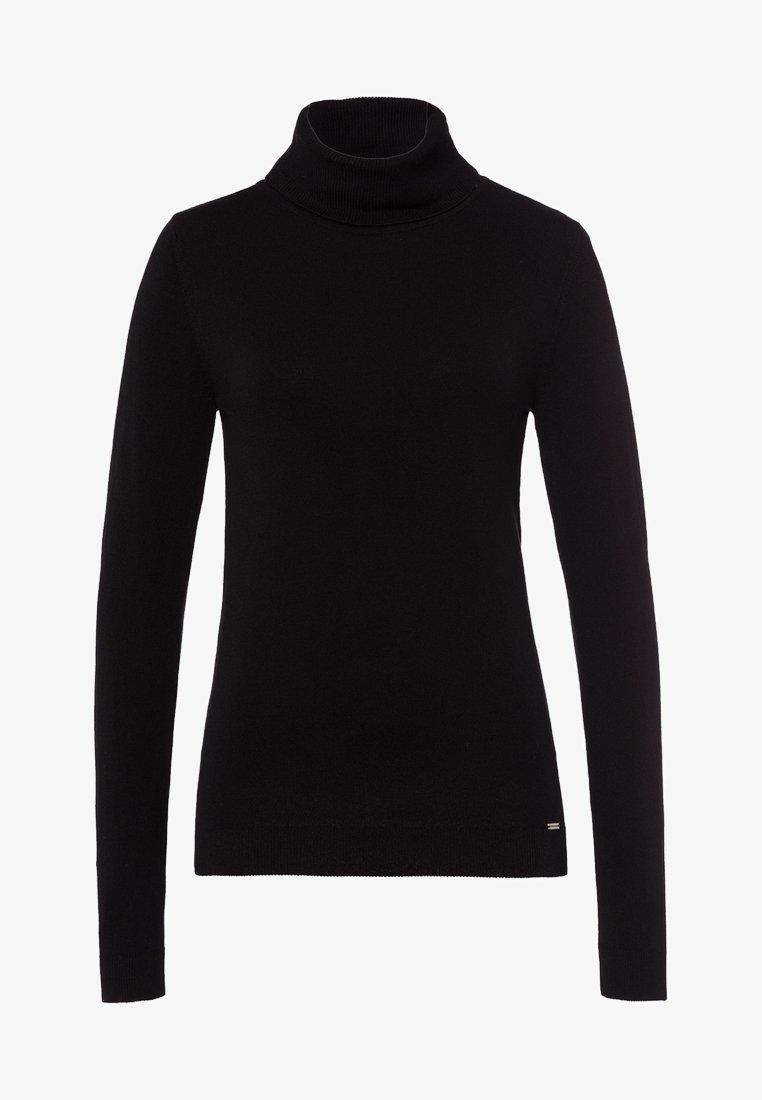 More & More - Stickad tröja - black