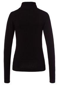 More & More - Stickad tröja - black - 1