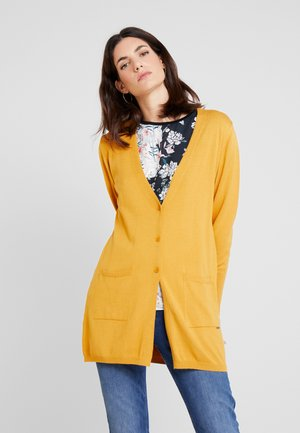 Cardigan - autumn yellow