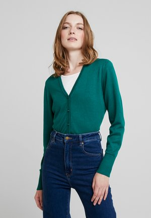 CARDIGAN - Cardigan - emerald green