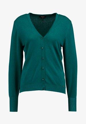 CARDIGAN - Chaqueta de punto - emerald green