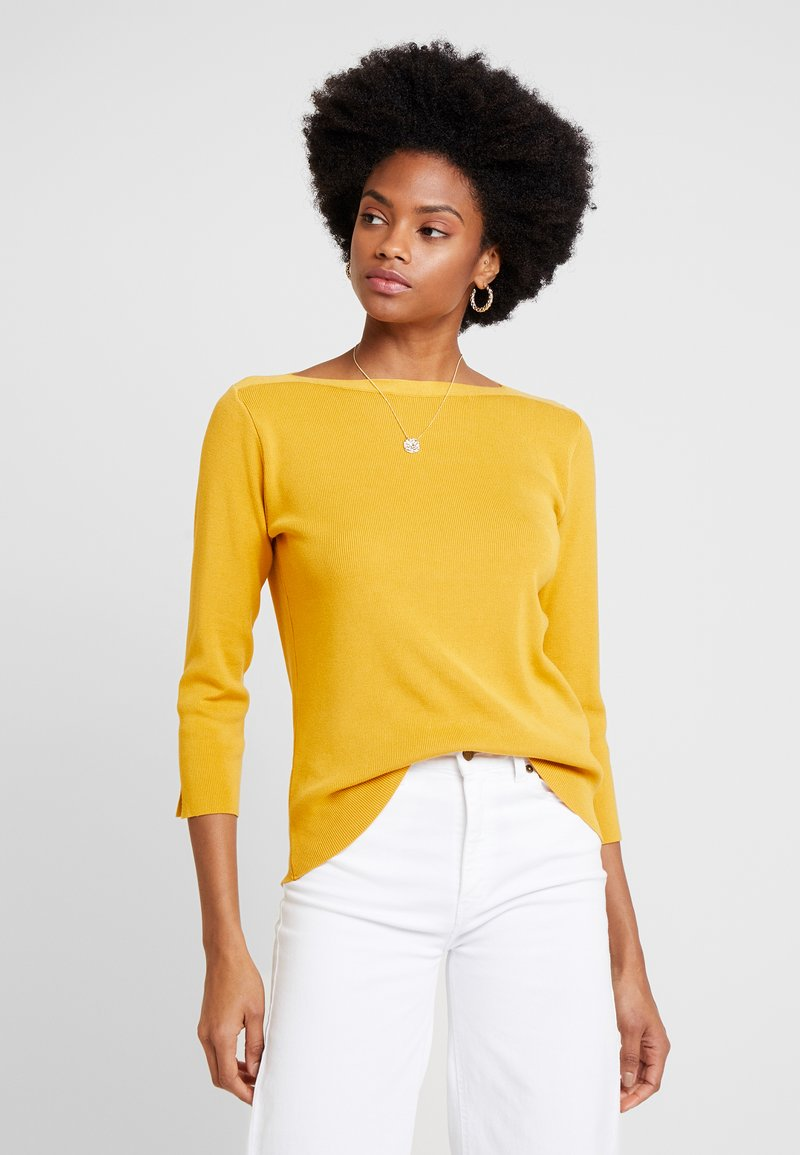More & More - 1/1 SLEEVE - Jumper - autumn yellow