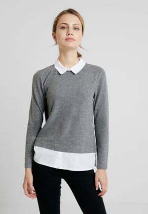 Jumper - warm grey melange