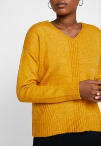 More & More - SLEEVE - Jumper - autumn yellow - 4