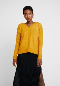 More & More - SLEEVE - Jumper - autumn yellow - 0