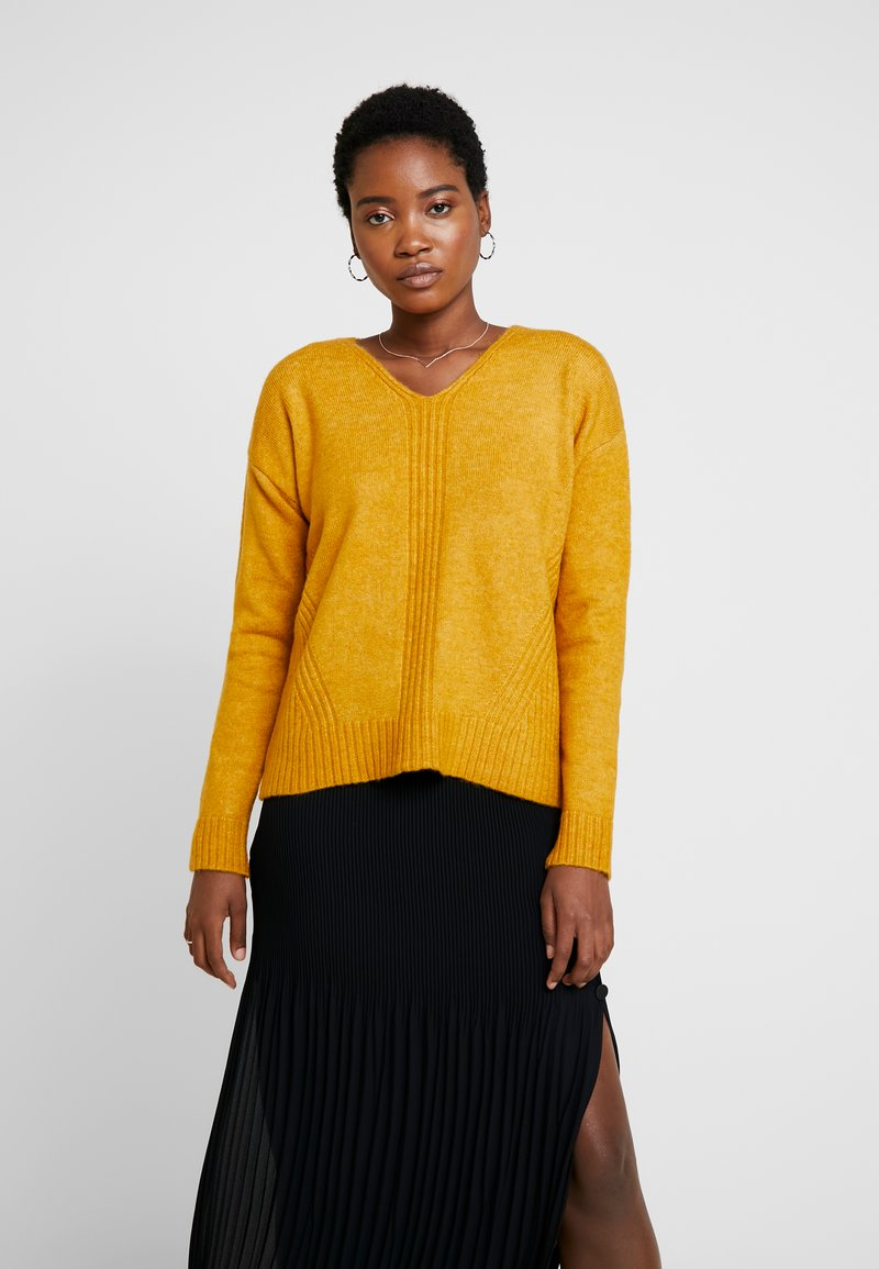 More & More - SLEEVE - Jumper - autumn yellow