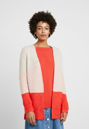 CARDIGAN - Cardigan - chilli peach multicolor