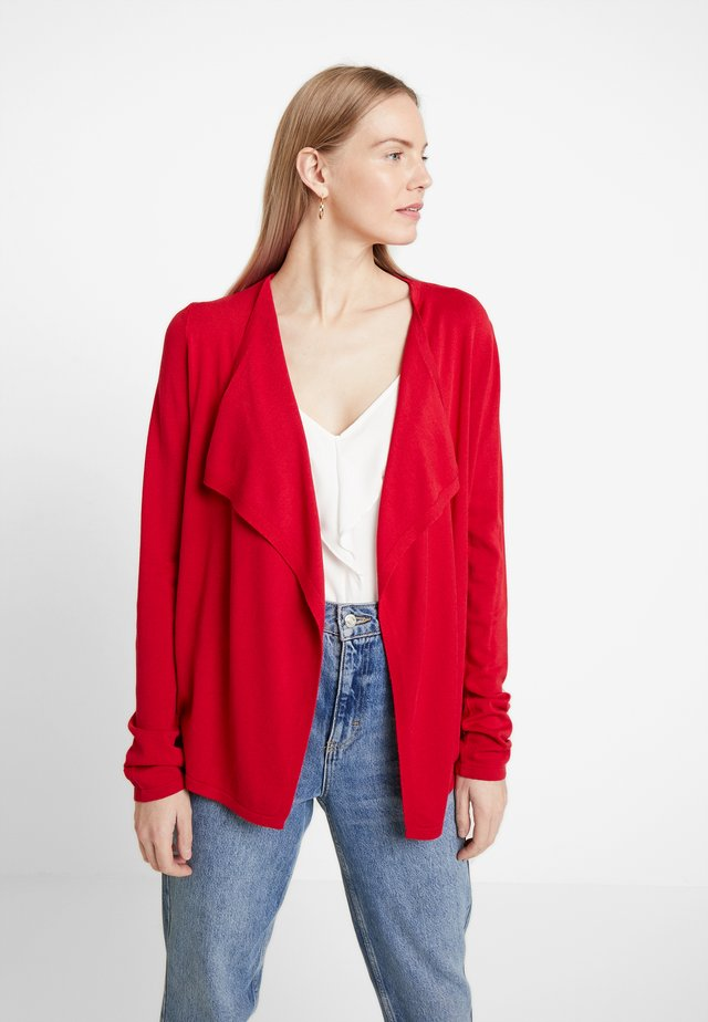 CARDIGAN - Cardigan - granate red