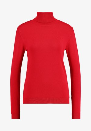 Sweter - granate red