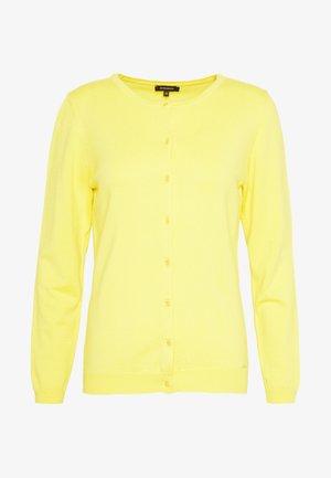 CARDIGAN - Cardigan - light lemon