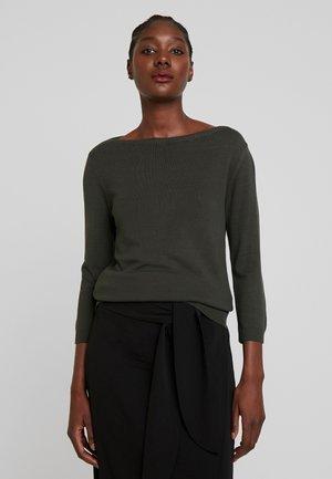 Pullover - dark leaf