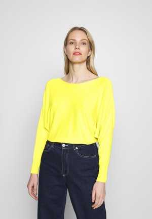 1/1 SLEEVE - Jumper - light lemon