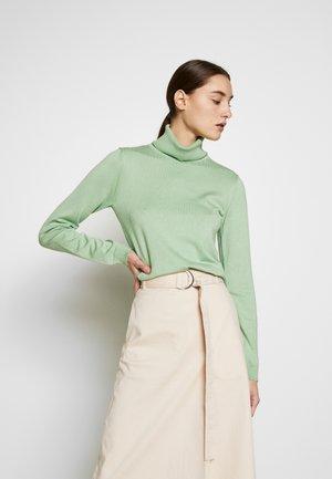 Strickpullover - soft green