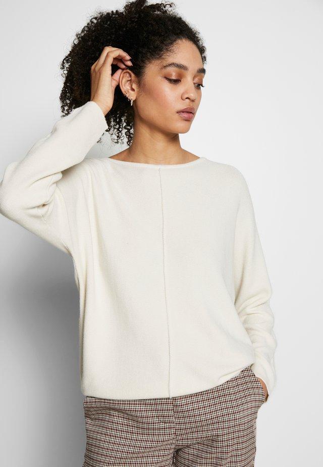 Jersey de punto - crema