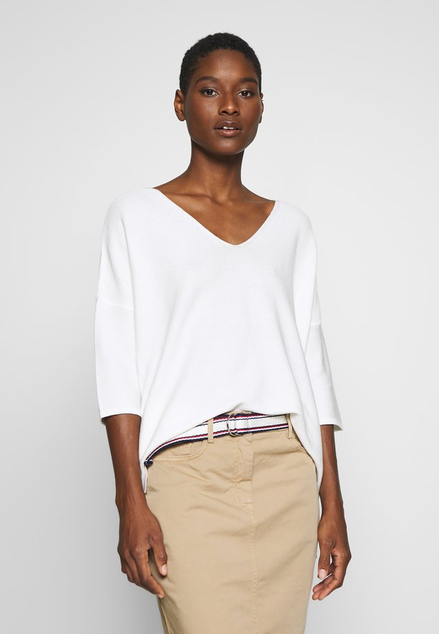 PULLOVER SLEEVE - Neule - offwhite