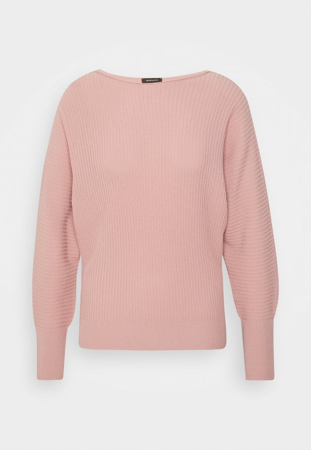 SLEEVE - Stickad tröja - pastel rose